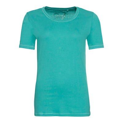 Damen-T-Shirt mit schicken Ziernähten