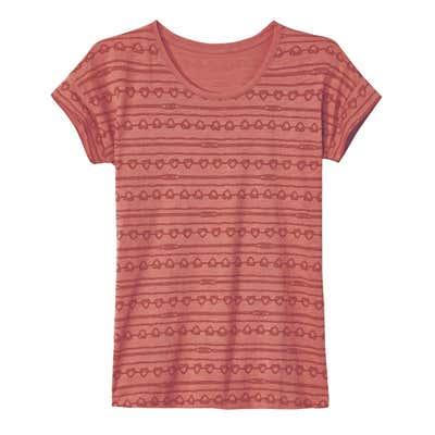 Damen-T-Shirt mit hübschem Muster