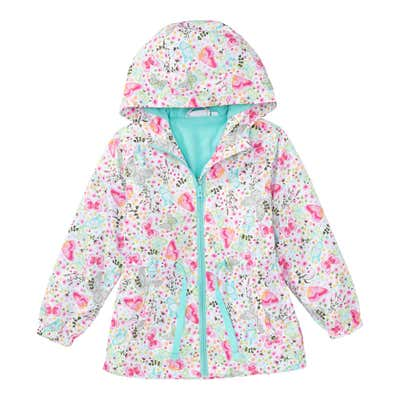Mädchen-Jacke mit Schmetterlings-Muster