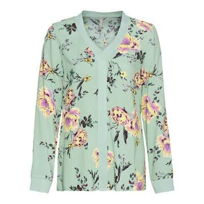 Damen-Bluse im floralem Design