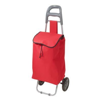 Einkaufstrolley mit ergonomischem Griff, ca. 81x45x29cm