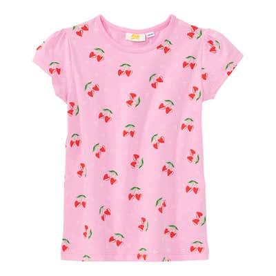 Mädchen-T-Shirt mit Kirschen-Muster