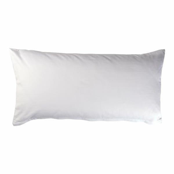 Satin-Kissenbezug aus reiner Baumwolle, ca. 40x80, 2er-Pack