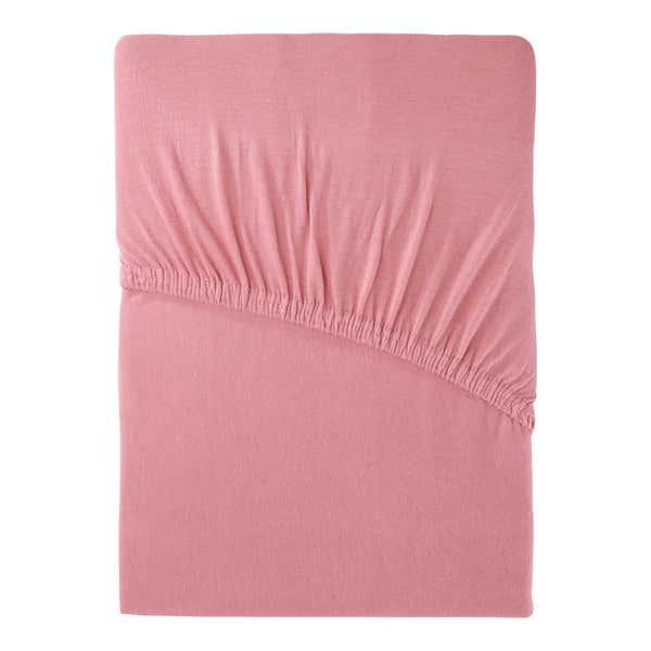 Jersey-Spannbetttuch in verschiedenen Farben, ca. 140-160x200cm
