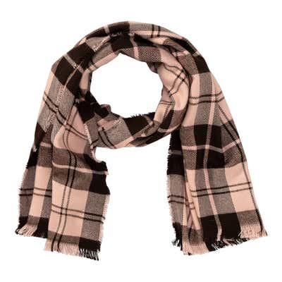 Damen-Schal mit Karomuster