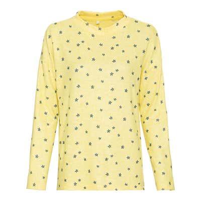 Damen-Sweatshirt mit Blümchen-Muster