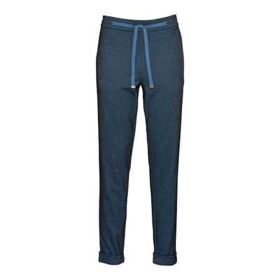 Damen-Jerseyhose mit Jacquard-Muster