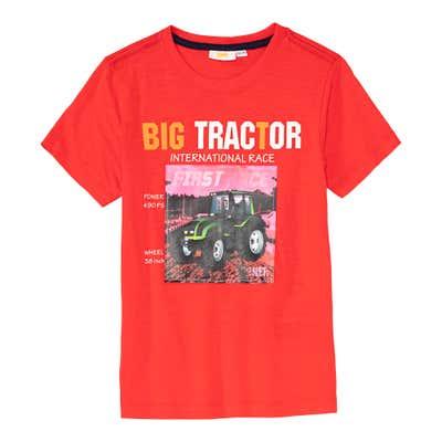 Jungen-T-Shirt mit Traktor-Motiv