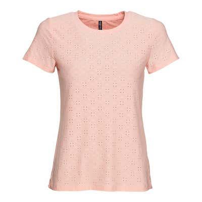 Damen-T-Shirt mit Struktureffekt