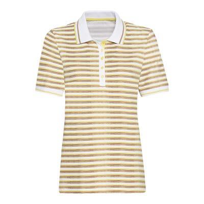 Damen-Poloshirt mit angesagten Streifen
