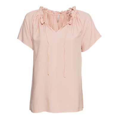 Damen-Bluse mit Raffung