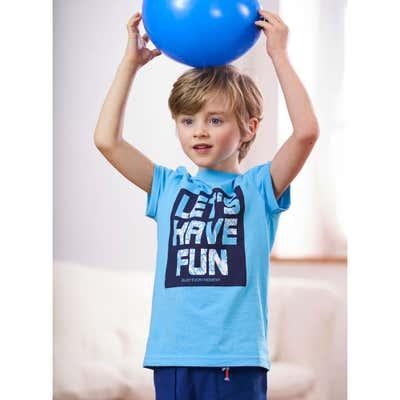 Kinder-Jungen-T-Shirt mit tollem Spruch