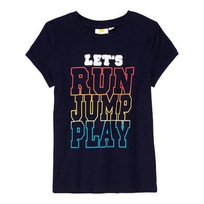 Kinder-Jungen-T-Shirt mit Gamer-Frontaufdruck