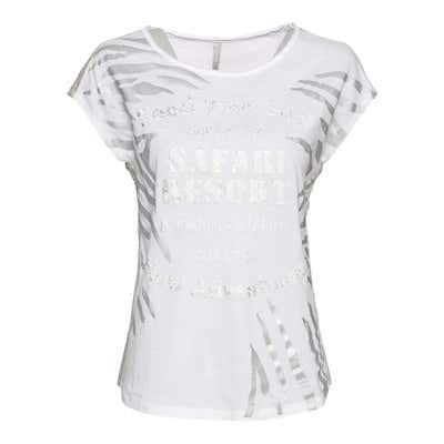 Damen-T-Shirt mit Frontaufdruck