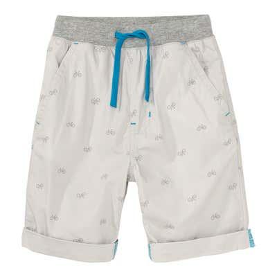 Kinder-Jungen-Bermuda-Shorts mit Fahrrädern