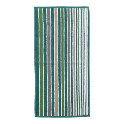 Handtuch mit Streifendesign, ca. 50x100cm