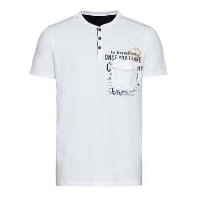 Herren-T-Shirt mit 1 Brusttasche