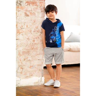Kinder-Jungen-Set mit Shirt und Bermudas, 2er-Set