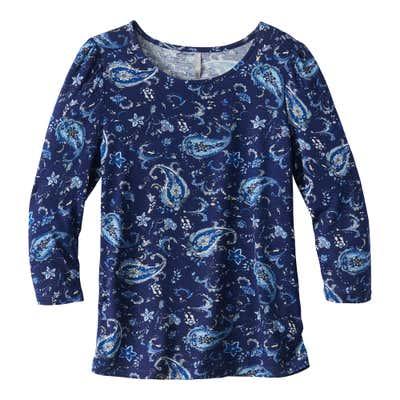 Damen-Shirt mit hübschen Muster