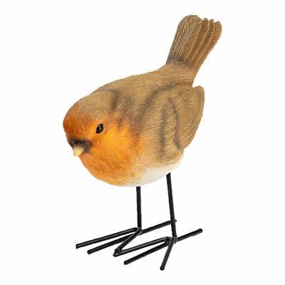 Vogel Deko-Figur, ca. 12,5x6,5x11cm
