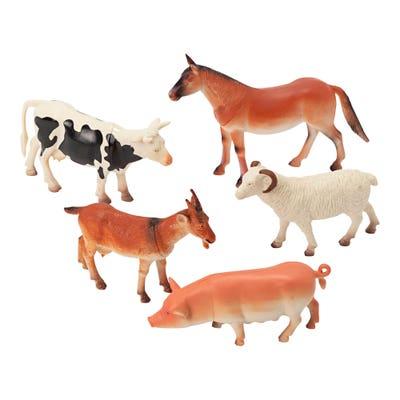 Spielzeug-Tiere, 5er-Pack