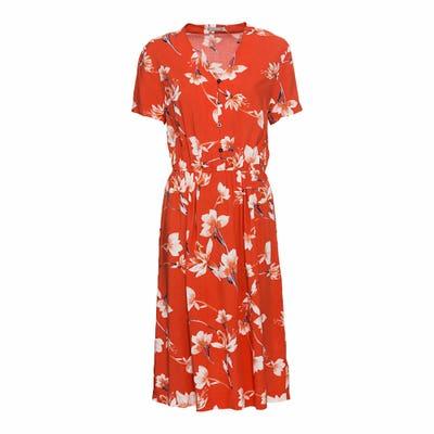Damen-Kleid im floralem Design