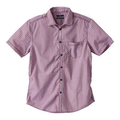 Herren-Hemd mit feinem Karomuster