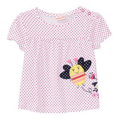 Baby-Mädchen-T-Shirt mit Applikation