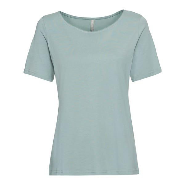 Damen-T-Shirt mit Mäusezähnchen