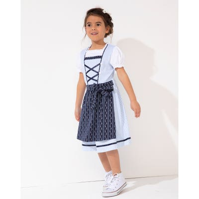 Kinder-Mädchen-Dirndl in traditioneller Optik