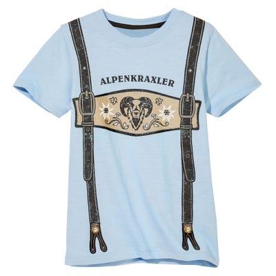 Kinder-Jungen-T-Shirt mit Trachtenmotiv