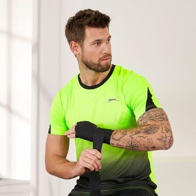 Herren-T-Shirt mit Farbverlauf