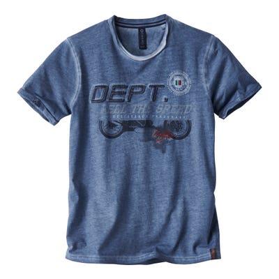 Herren-T-Shirt mit Waschungen