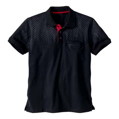 Herren-Poloshirt in Sport-Optik