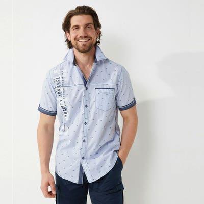 Herren-Hemd mit Brusttasche