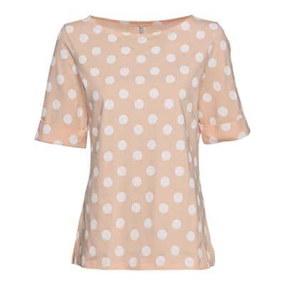 Damen-T-Shirt mit Punkte