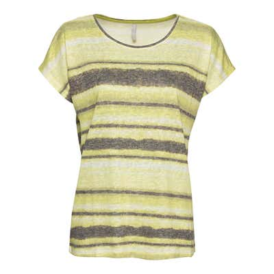 Damen-T-Shirt mit Streifendruck