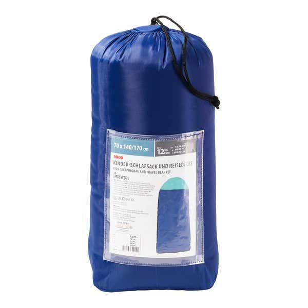 Kinderschlafsack im Tragebeutel, ca. 140/170x70cm