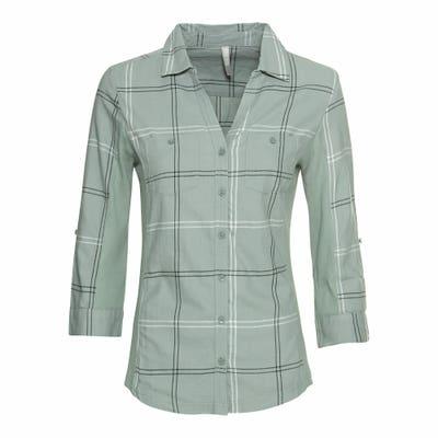 Damen-Bluse mit Brusttaschen
