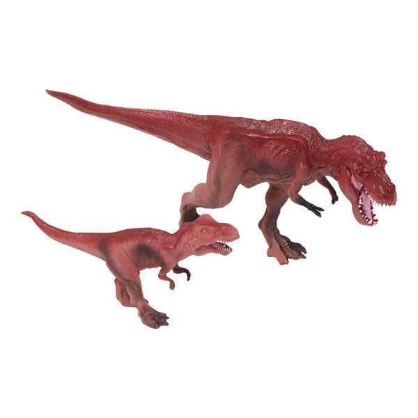 Dinosaurier-Set in verschiedenen Ausführungen, ca. 18x32x8cm, 2-teilig