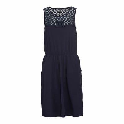 Damen-Kleid mit Spitzeneinsatz