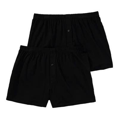 Herren-Boxershorts, 2er-Pack, große Größen