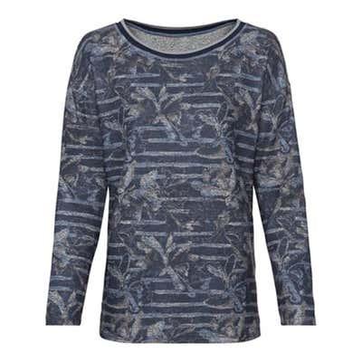 Damen-Sweatshirt mit U-Boot-Ausschnitt