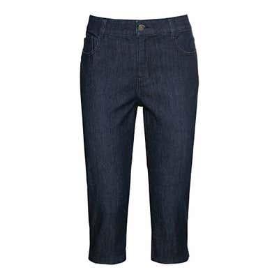 Damen-Jeansbermudas im 5-Pocket-Style