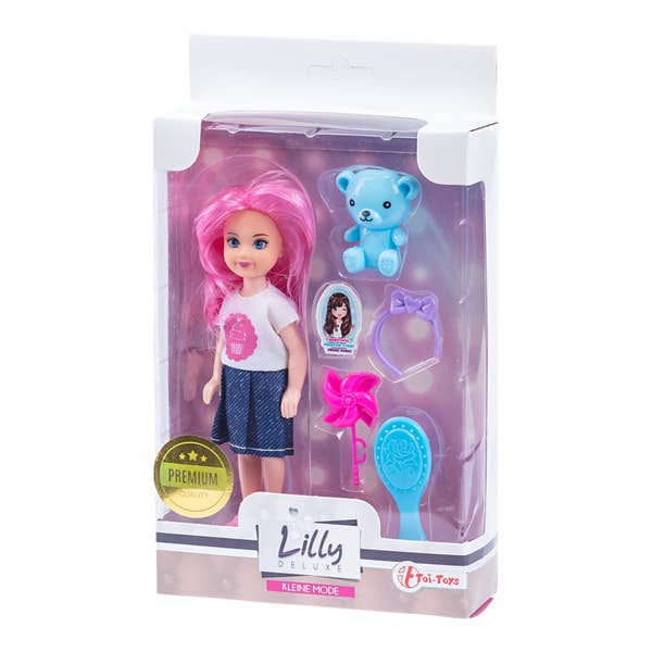 Lilly Mini Teenager-Puppe, ca. 14cm