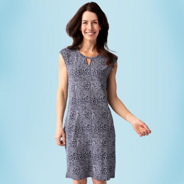 Damen-Kleid mit Punkten