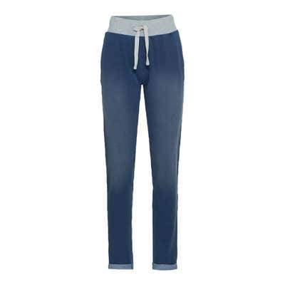 Damen-Joggpants im Jeans-Design