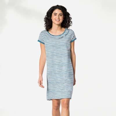 Damen-Nachthemd im Marine-Look