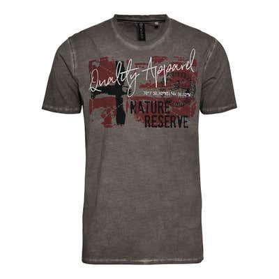 Herren-T-Shirt mit großem Frontprint