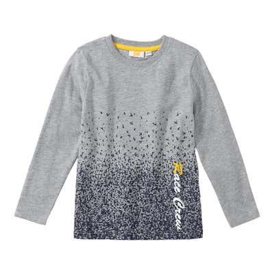 Jungen-Shirt mit Farbspray-Effekt